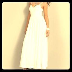 BNWT Hunter Green Maxi Dress